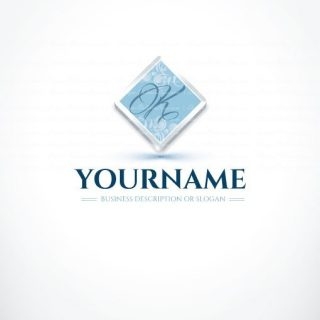 3086-blue-initials-logo-design-templates