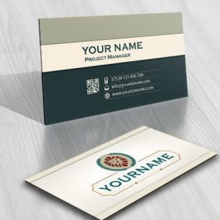 3095-vintage-lion-logo-free-business-card-design