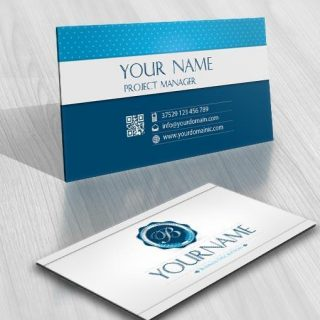 3098-initials-stamp-logos-free-business-card-design