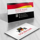 3102-Deutsch-initials-logo-free-business-card-design