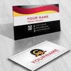 3106-Deutsch-initials-logo-free-business-card-design