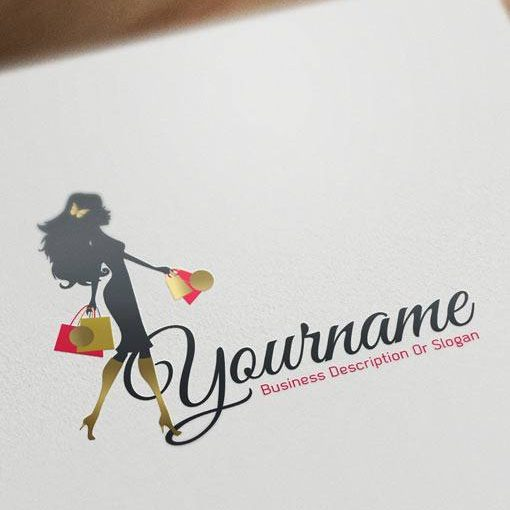 3110-ready-made-fashion-woman-shopping-logo-design