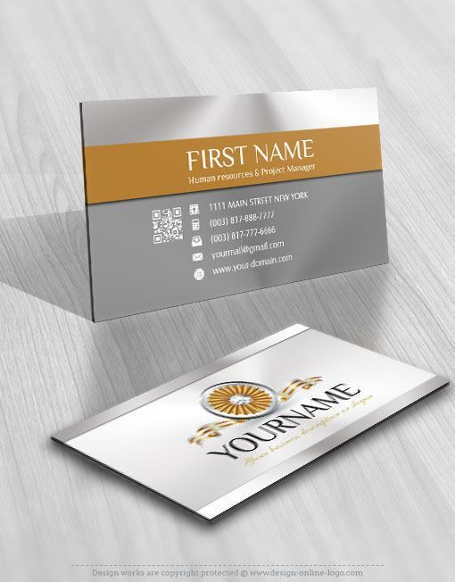 Ribbon diamond jewelry logo free business card 3115 jewelry logo business card design reheart