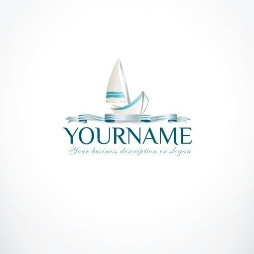 3116--ready-made-sea-Boat-exclusive-logo-design