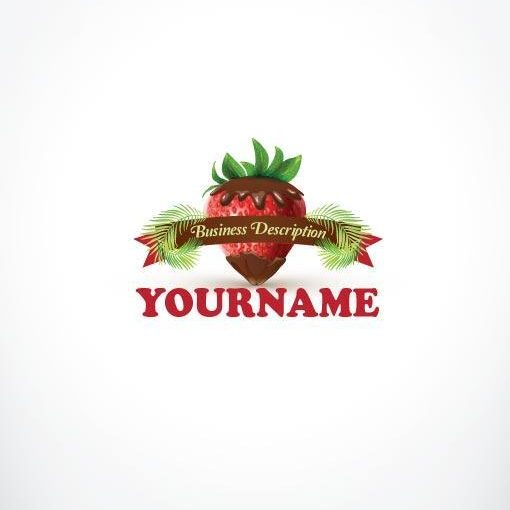 3118--ready-made-Strawberry-Chocolate-exclusive-logo-design