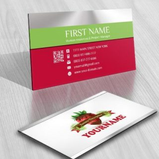 3118-sweet-Strawberry-logo-business-card-design