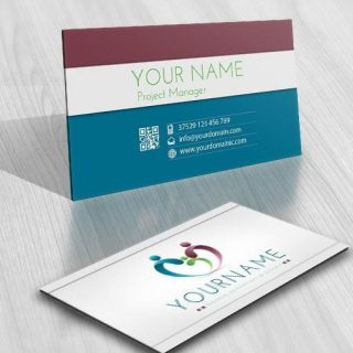 3123-family-logo-free-business-card-design