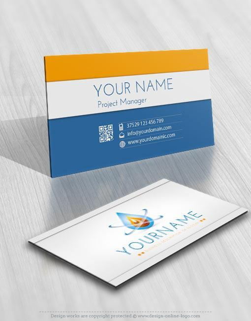 3125-water-fire-logo-free-business-card-design