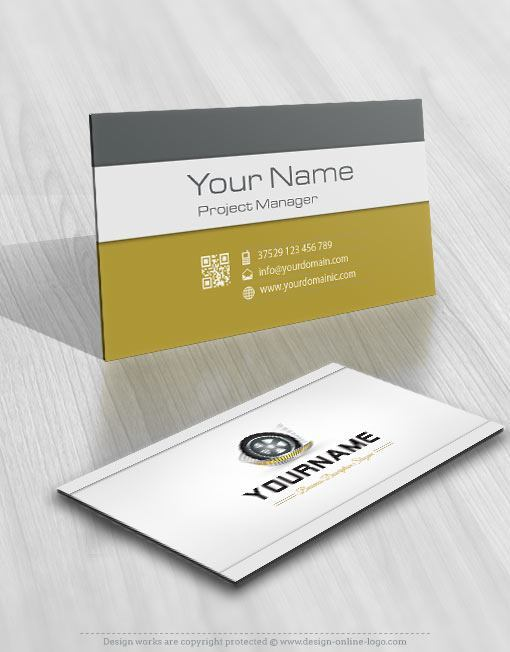 3130 transportation logo free business card design
