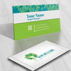 3133-green-tree-hands-logo-free-business-card-design