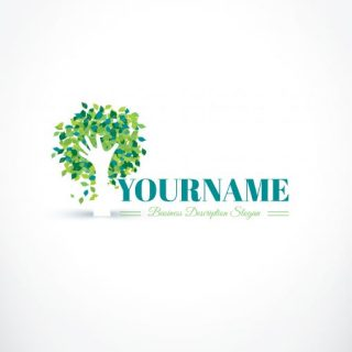 3133--hand-tree-logo-design-templates