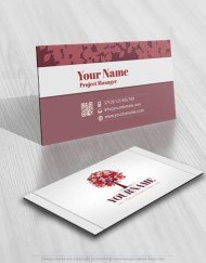 3135-tree-heart-logo-free-business-card-design