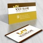 3157-Fox-logo-Images-free-business-card-design