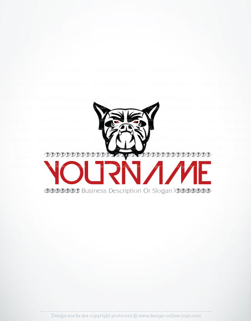 3159-create-a-logo-Bulldog-templates