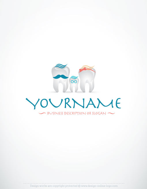 3160-create-a-logo-dental-family-templates