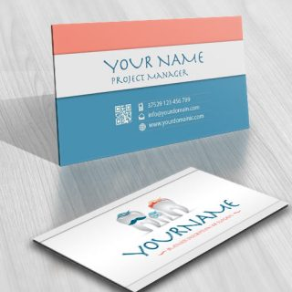 3160-dental-logos-Images-free-business-card-design