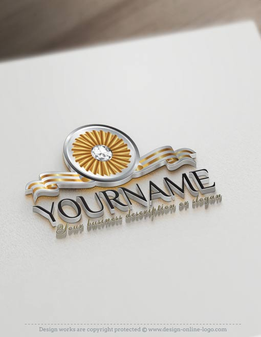 Diamonds-jewelry-ready-made-exclusive-logo-design