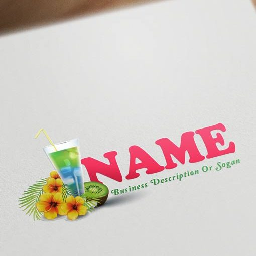 Holiday-Bar-logo-design-template