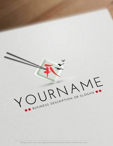Japanese-Restaurant-exclusive-logo-design