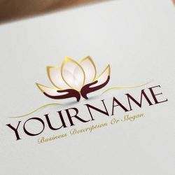 Ready-made-Exclusive-design-with-a-Lotus-Flower-logo-image