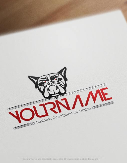 create-a-logo-Bulldog-templates