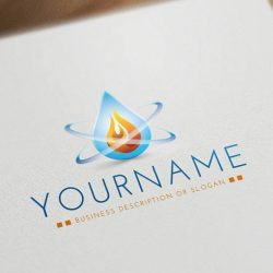 water-drop-flame-logos-for-sale-online