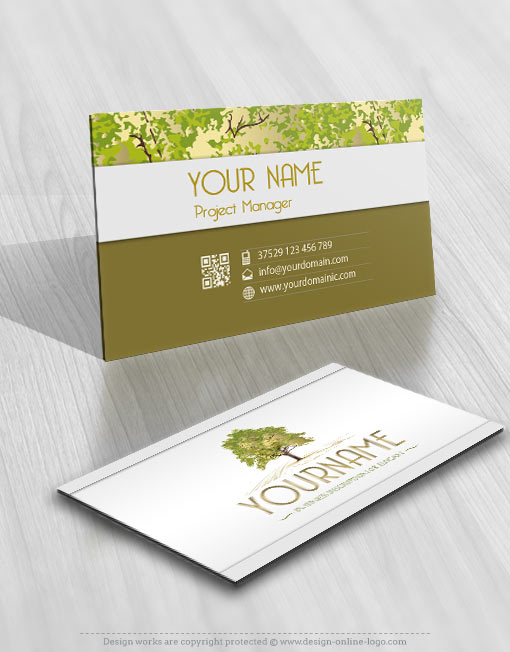 3165-tree-logos-Images-free-business-card-design