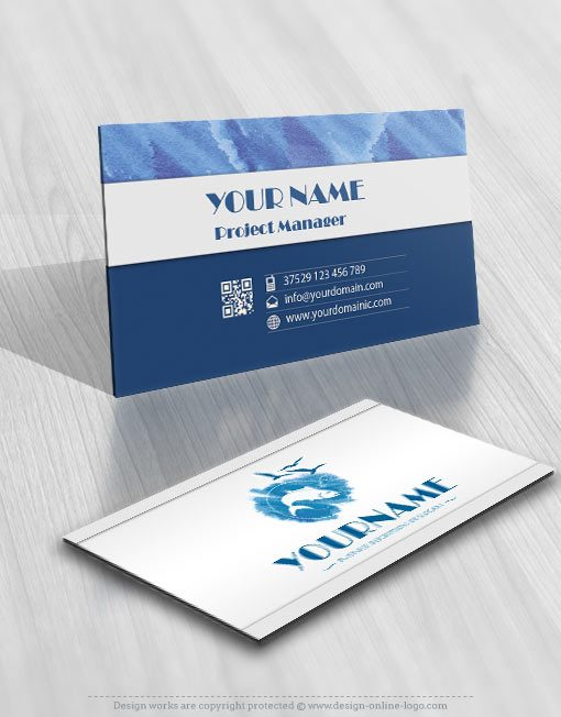 3170-fish-logos-Images-free-business-card-design