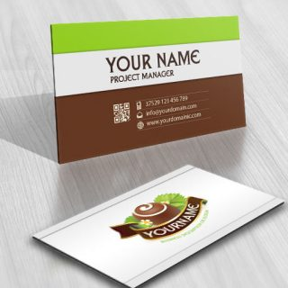 3172-Chocolate-logos-Images-free-business-card-design