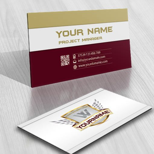 3187-wings-logos-Images-free-business-card-design