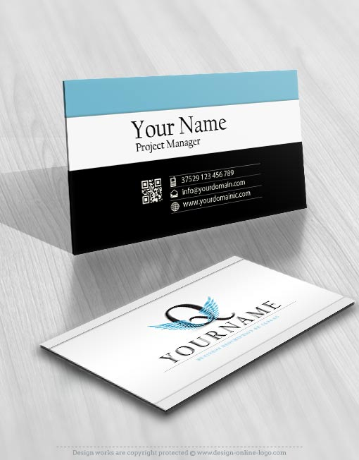 3200-wings-Q-logos-Images-free-business-card-design