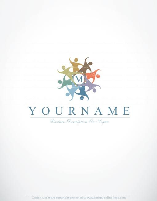 3205-create-human-group-logo-templates