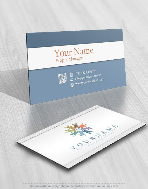 3205-people-group-logos-Images-free-business-card-design