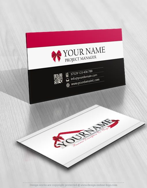 3207-gift-house-logos-Images-free-business-card-design