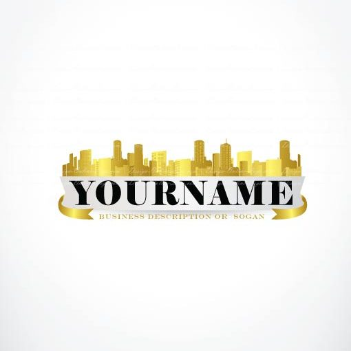 3208-create-gold-citry-logo-templates