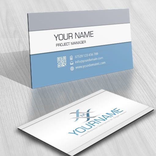 3212-simple-Alphabet-logos-Images-free-business-card-design
