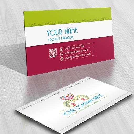 3218-flowers-logos-Images-free-business-card-design