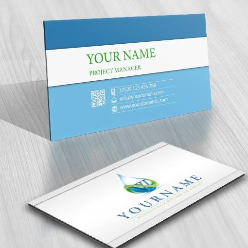 3243-eco-water-logo-Images-free-card-design