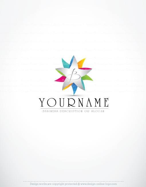 3260-ready-made-Flower-logo-templates