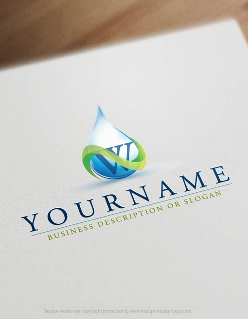 ready-made-eco-water-logo-templates