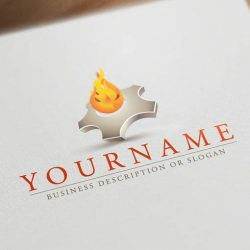 ready-made-fire-logo-templates