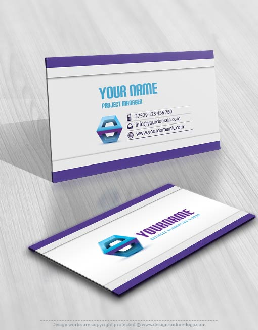 Exclusive logo template 3d logo image free business card design prev cheaphphosting Choice Image