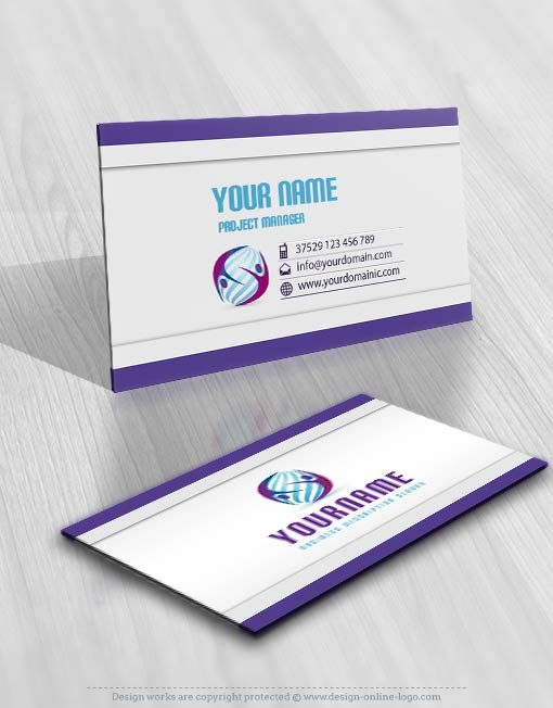 3267-3d-logo-people-Image-free-card-design