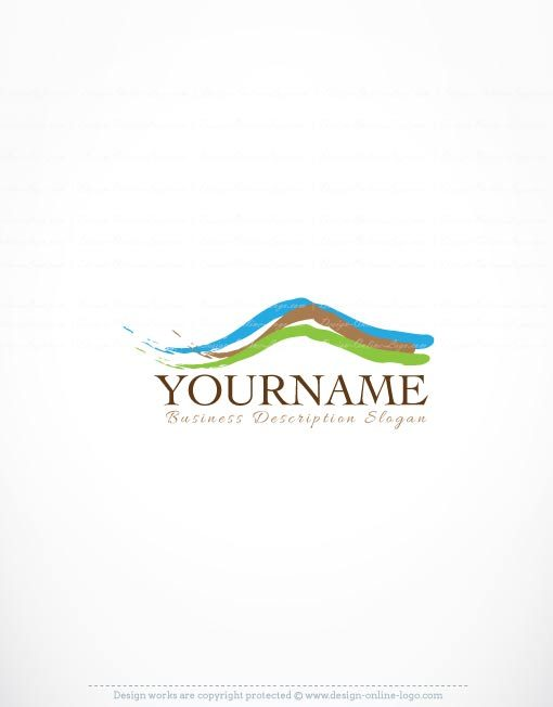 3272-Mountain-landscape-logo-template