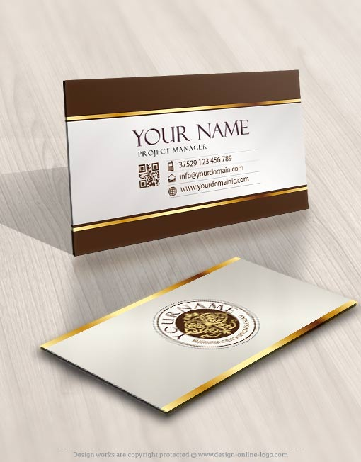 3273-Luxury-logo-template-free-business-card