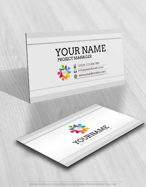 3284-People-group-logo-Image-free-card-design
