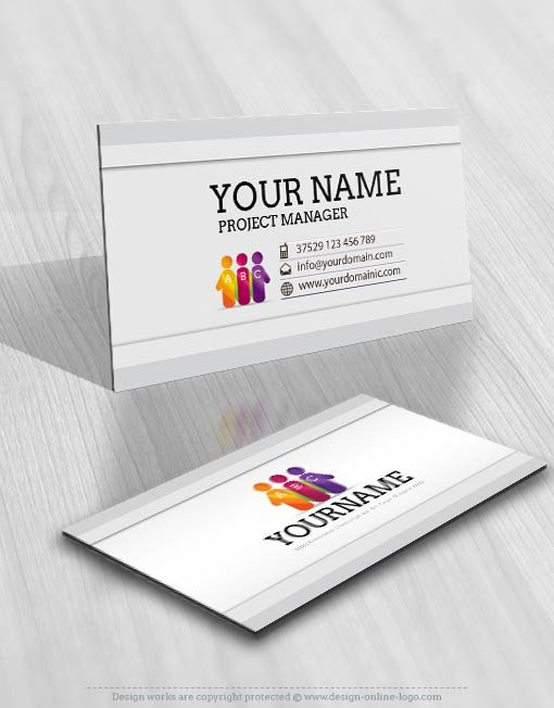 3286-Initials-people-logo-Image-free-card-design