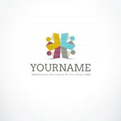 3287-online-people-group-logo-design-template
