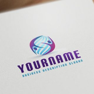 3d-people-logo-template