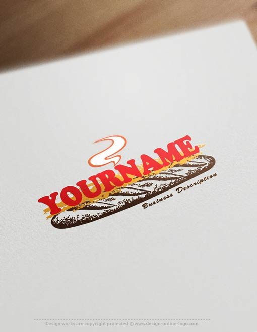 Sandwich-logo-template
